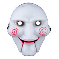 Wholesale Horror Halloween Face Mask Saw Cartoon Mask Chainsaw Massacre Mask For Party Cosplay Halloween Masquerade Mask