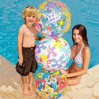 Wholesale Intex popular beach ball swimming toys inflatable diameter cm
