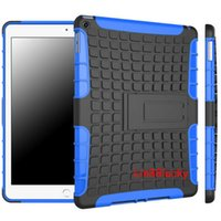 tyres china - 2 in Hybrid TPU PC Robot Case Cover with Stand Holder for iPad Air tyre skin robot case for ipad6