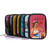 Wholesale BAVIPHAT Cosmetic Bags Makeup Pouch S M L XL Multi Colors DHL Free