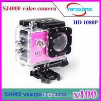 Wholesale SJ4000 Style A9 P Extreme Sport DV Full HD Helmet Action Camera Full HD Diving M Waterproof Camera Camera Style A9 ZY DV