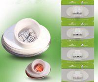 Cheap Micro Dual Wax Ceramic coils for dry herb g Vaporizer herbal vaporizers pen Wax dry herb atomizer e cigarette g pro vaporizer pen