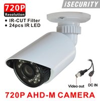 axis analog camera - Analog AHD MP P p CCTV Camera Securiy Waterproof Metal Network CCTV Camera with Axis bracket