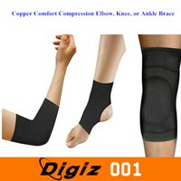 Wholesale Copper Comfort Compression Elbow Knee or Ankle Brace
