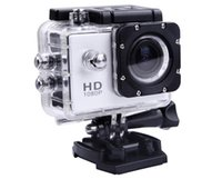 Wholesale Top Quality Waterproof SJ4000 Car Camera Recorder Helmet Sports DV P Full HD H MP Car Dvr Diving Bicycle Action Camera