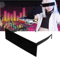 Wholesale New Stylish Censorship Censor One piece Black Bar Internet Sunglasses Costume Xmas Party Cosplay Most Awesome Gift