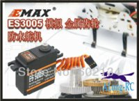 Cheap FREE SHIPPING-EMAX ES3005 Analog Metal Waterproof Servo with Gears 43g servo 13KG torque for the RC car boat airplane
