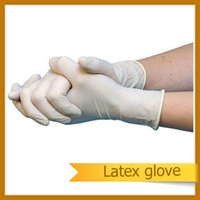 surgical gloves - CE FDA ISO approved AQL1 latex gloves for medical dental surgical laboratory examination food service