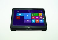 Wholesale NEW Coming PIPO X8 Windows8 Android4 Dual Boot Intel Z3736F Quad Core Mini PC Tablet HDMI G G b g n LAN DHL
