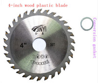 Wholesale 4 inch serrated blade carpentry saw tungsten steel cutting machine grinder dedicated sawing wood cutting blades