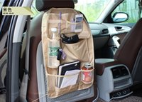 Wholesale 3 colors Waterproof Car Auto Multi Pocket Back Seat Pocket storage Organizer bag