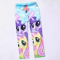 Wholesale Famous Hot My Little Pony Print Kids Girls Princess Pants Baby Leggings Trousers
