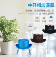 Wholesale Cowboy Hat Air Aroma Diffuser Humidifier Essential Oil