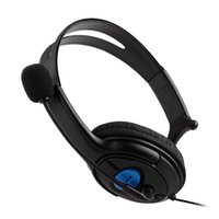 Wholesale Wired Gaming Headset Unilateral Headphone With Microphone for PS4 PlayStation PC mm Plugs Cable
