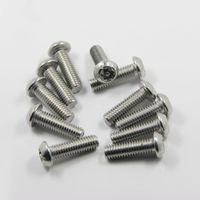 Wholesale 304 stainless steel countersunk flat head screws PAN plum plum screw anti theft screws M2 M3