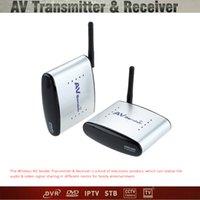 audio video transmitter receiver system - 150M PAT G Wireless AV Audio Video Sender Transmitter Receiver System for DVD DVR IPTV CCTV Camera TV DHL V1389