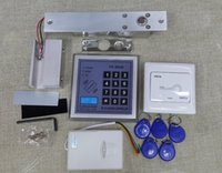 magnetic door lock - Set Electric Door Lock RFID Access Control System Set Kit Electric Magnetic Lock NC Card Reader