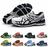 athletic support - New Colors Asics Gel Kayano T3N2N Running Shoes For Men Lightweight Avoid Shock High Support Athletic Sneakers Eur