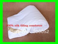 Wholesale New Summer Silk quilt pure China Silk filling kg cm OEM freeshipping