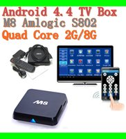 android free download - M8N K Smart Android IPTV OTT TV BOX GB RAM GB Quad Core Bluetooth Amlogic S802 kodi15 Fully Loaded Google Play Store Download free