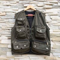 photography camera - Men Waistcoat Outdoor Hiking Fishing Photography Director Camera Jacket Vest Y0271