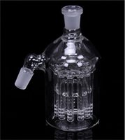 Wholesale Ashcatcher mm and mm manufacturer thick mm heavy HR01 arms tree ash catcher glass smoking accessories bubbler ash catcher