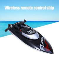 auto directions - Fei Lun FT012 Brushless Motor G RC Boat with Auto Rectifying Deviation Direction Function Control Remote Boat EU Plug