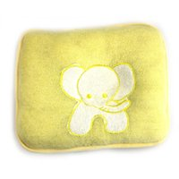 Wholesale Yellow Baby Cut Pillow With Elephant cotton