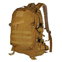 Wholesale Sports Outdoors Molle D Military Tactical Backpack Rucksack Bag Camping Traveling Hiking Trekking High Intensity Durable L
