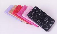 Cheap New Maple leaf Diamond bling flip leather case cover for Samsung S3MINI I8190 S4MINI I9190 S5MINI