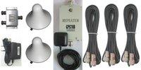 al por mayor refuerzo de los gps-65dB 1575.25MHz sugieren el aumentador de presión de la señal del GPS 500-1000sqm (amplificador del repetidor) Incluya cables de 2 * 10m + 19m + 3 hormiga.