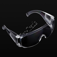 Wholesale 150pcs Workplace Safety Supplies Eyes Protection Clear Protective Glasses Wind and Dust Anti fog Lab Medical Use Safety Goggles