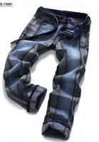 Men men color jeans - Men s Rock Revival Straight jeans Two color Joining together