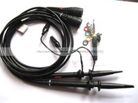 Wholesale 2 Black MHz Scope Clip Probes for Oscilloscope