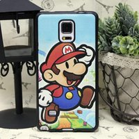 note 3 phone - Super Mario Jumping Soft Rubber Stick PU Leather Cover Cell Phone Case For Samsung Galaxy Note Note Note