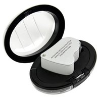 magnifying glass - LED Double Multiple X X Jeweler Eye Loupe Magnifier Magnifying glass