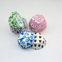 Wholesale Gift Beautiful flower paper CupCake Cases