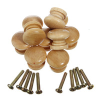 Wholesale Hot Sellinbg Pack Wooden Cabinet Drawer Wardrobe Door Knob Pull Handle Hardware Plain