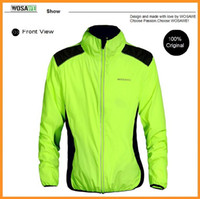 Wholesale WOSAWE Tour de France Cycling Jersey Men Bike Motocross Reflective Jackets Cycle Clothing Long Sleeve Wind Coat Jerseys