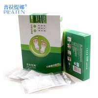 bamboo detox patch - Retail Price PILATEN Bamboo Vinegar Medicament Detoxing Foot Patch Health Care Improve Constipation Sleep Chinese Herbal Foot Pads Patch