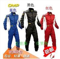 motorcycle racing suit - new arrivel OMP racing suit Club kart racing motorcycle riding exercise clothing overalls