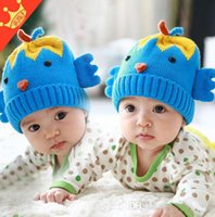 best crochet patterns - Baby Girls Wollen Hats For Winter Best Quantity Children Bird Pattern Caps Fashion Boys Caps Fit Age