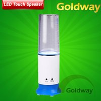 Precio de Fuente de la música llevado-Dropshipping USB altavoz LED del agua del sensor del tacto del cambio del color del aerosol altavoz increíble fuente mini altavoz de la música