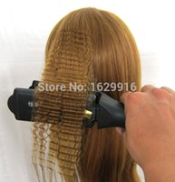 Wholesale 2015 new style curls hot curls dummy head with blonde hair corn hot roll hair real Hair