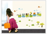 fluffies - Cartoon Nutty Fluffies Children room for kid s bedroom wall stickers PVC environmental protection stickers7033