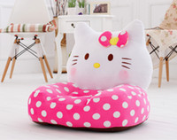 baby relax chair - Fashion New Splashy Hello Kitty Relax Baby Feeding Chair Child Seat Sofa Kids Cotton Lounge Chair Plush Toys