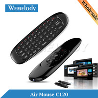 android para pc usb - C120 Mini USB Keyboard Wireless Ghz Fly Air Mouse Sem Fio Teclado Para PC Tablet Remote Control for Smart TV Android TV Box