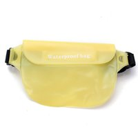 Wholesale New Waterproof Dry Waist Bag Candy Color Unisex Swimming Rafting Outdoor Beach Camera Pack Phone Holder Sport Running Pouch Case