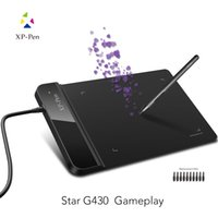 Wholesale XP Pen G430 x inch Ultrathin Graphic Drawing Tablet for Game OSU and Battery free stylus designed Gameplay