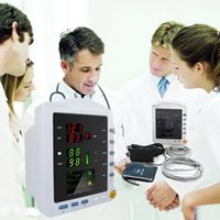 Wholesale CONTEC Vital Sign Portable Blood Pressure Patient Monitor Three Parameters CMS5100 Home blood pressure portable